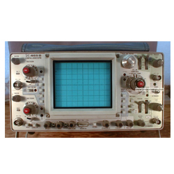 TEKTRONIX 465B/DM44 OSCILLOSCOPE, 100 MHZ, 2 CH., WITH MULTIMETER AND PROBES